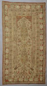 Tkanina bawełniana, stemplowana – kalamkar