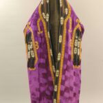 fioletowy strój paranża