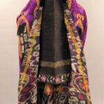 velvet oriental outfit paranja