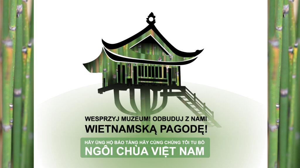 rysunek pagody z napisami po polsku i wietnamsku